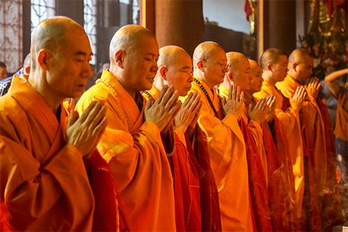 苏州包山禅寺举行大雄宝殿佛像开光法会