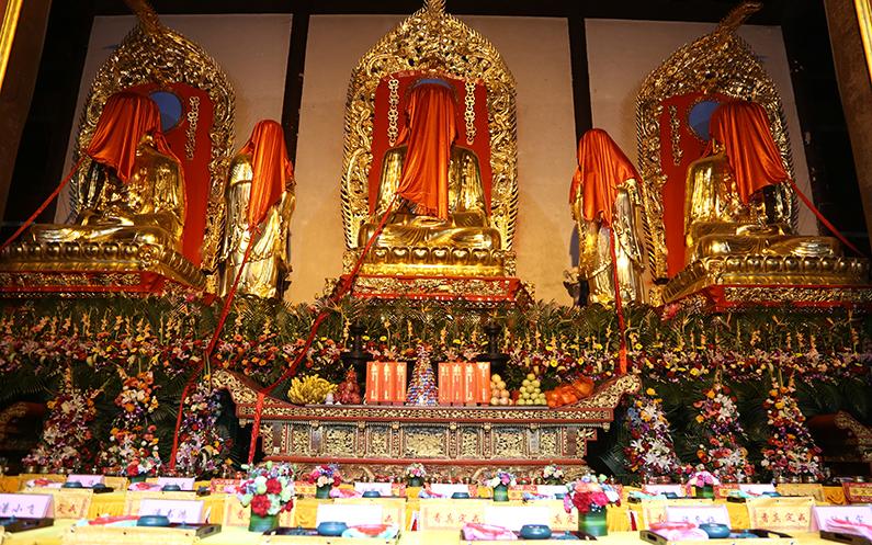 苏州包山禅寺举行大雄宝殿全堂佛像开光法会