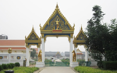 白马寺泰国佛殿 中泰佛教文化交流的丰碑