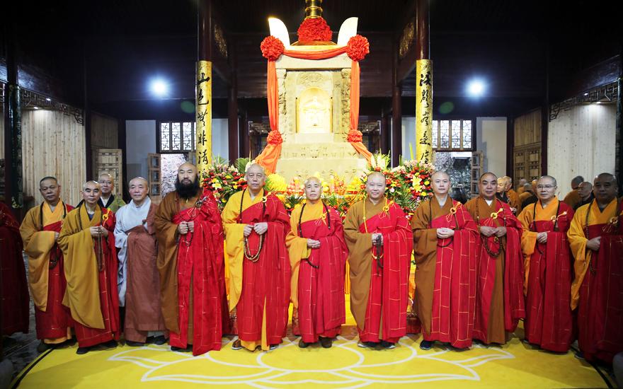 【高清图集】纪念圆瑛大师诞辰140周年于天童禅寺举行