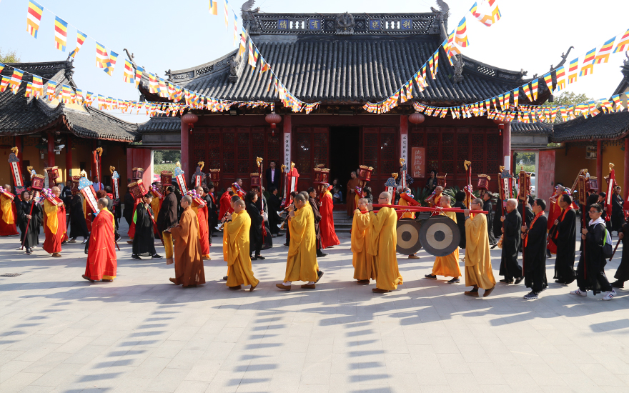 【高清图集】恭送诸佛 回向众生 上海天光禅寺水陆法会圆满送圣