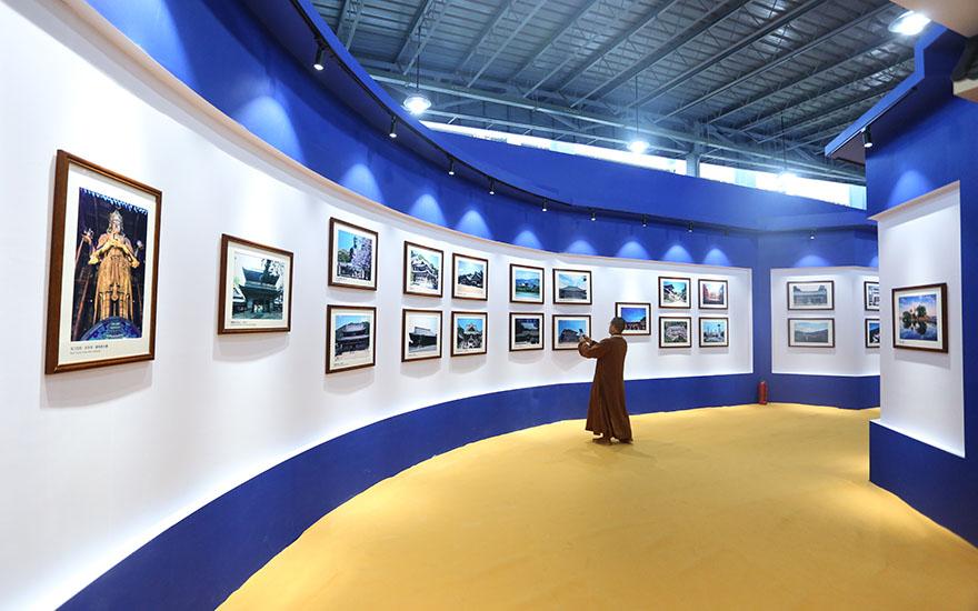 【高清图集】第五届世界佛教论坛图片艺术展揭幕仪式隆重举行