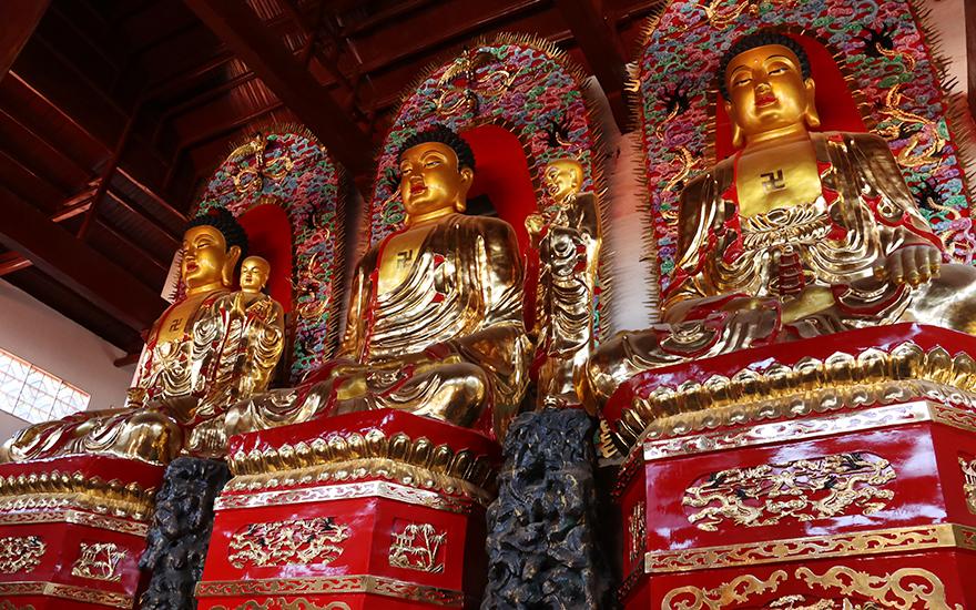 【高清图集】向善奉行 江西普宁寺佛像开光法会圆满