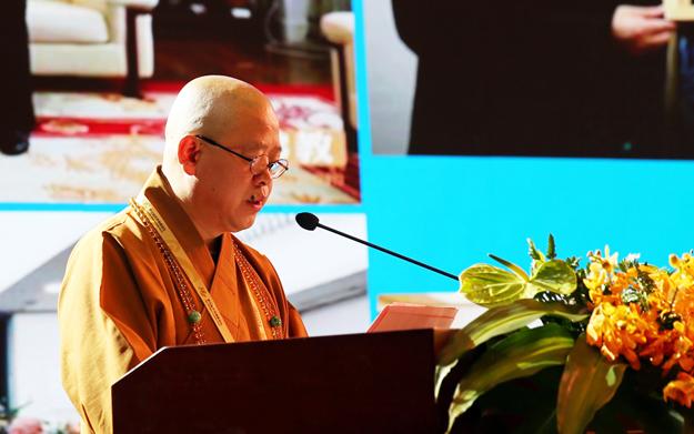 纯一法师:中日书法交流源于佛教 中日佛教交流因书道而添彩
