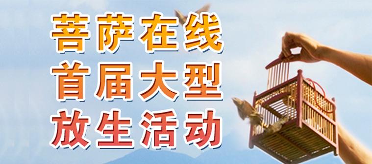 2011菩萨在线首届大型放生活动