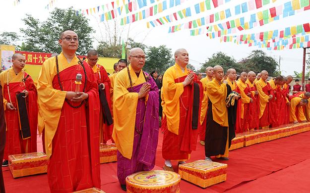广东彼岸寺举行四十九大士瑜伽施食焰口法会
