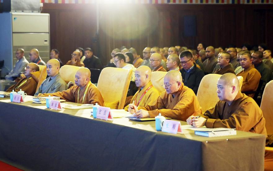【高清图集】26位法师宣说妙法 2018中国佛教讲经交流会近千人云集听法