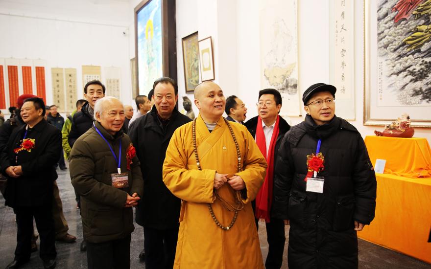 【高清图集】峨眉山文化艺术长廊首届开展 总面积约2万平米