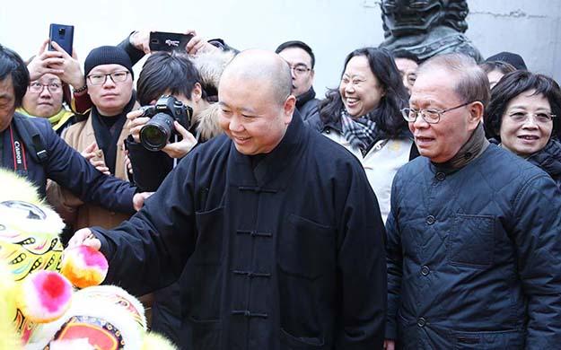 上海玉佛禅寺陈家泠佛教艺术馆开馆 享有国家收藏资格