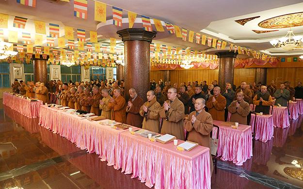 普陀山佛教协会2018年年终总结大会闭幕