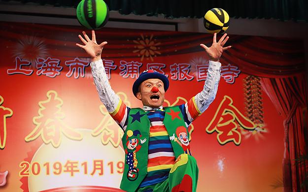 【高清图集】上海青浦报国寺迎新春茶话会活动圆满