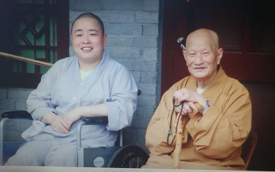 【高清图集】宁波妙音精舍举行道生长老圆寂一周年纪念活动