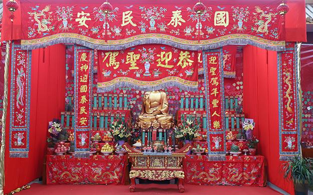 上海七宝教寺举行供佛斋天祈福大法会