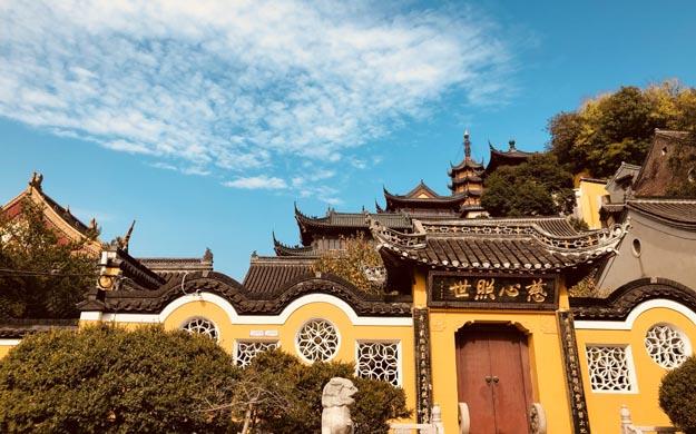 雪中禅镜——金、焦二寺
