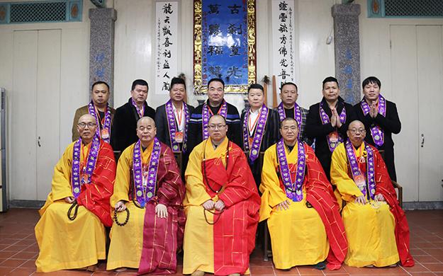 福建罗源万寿寺举行全山佛像开光庆典法会