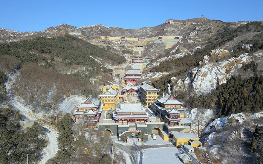 【高清图集】北国风光:锦州北普陀寺春雪