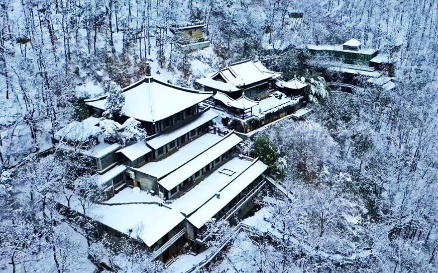 终南山的清修秘境——净业寺