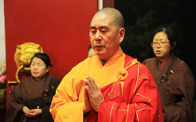 湖南湘阴法华寺举行释迦牟尼佛出家日消灾祈福法会