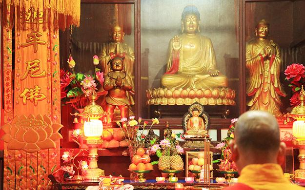 【高清图集】湘阴法华寺举行释迦牟尼佛出家日消灾祈福法会