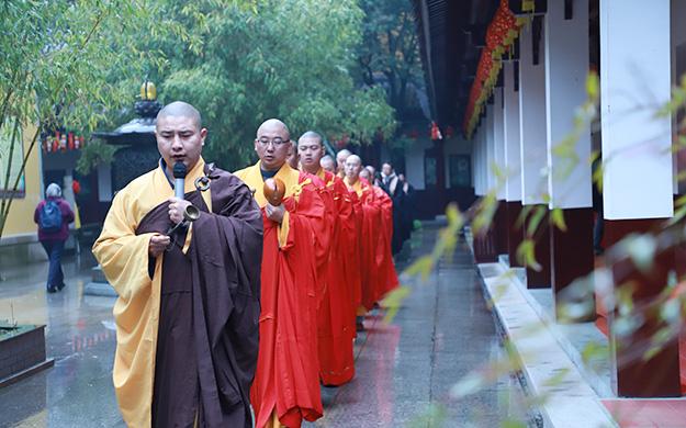上海福田净寺举行观音菩萨诞辰系列法会