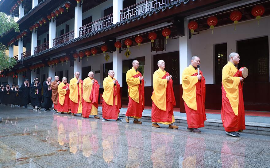 【高清图集】上海福田净寺举行观世音菩萨诞辰系列祈福法会