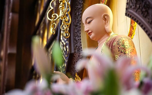 【高清图集】松江佛协文化大讲堂首讲 苏玛法师谈《离苦得乐》