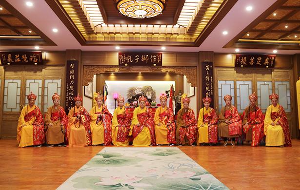 上海青浦报国寺众姓水陆法会圆满送圣