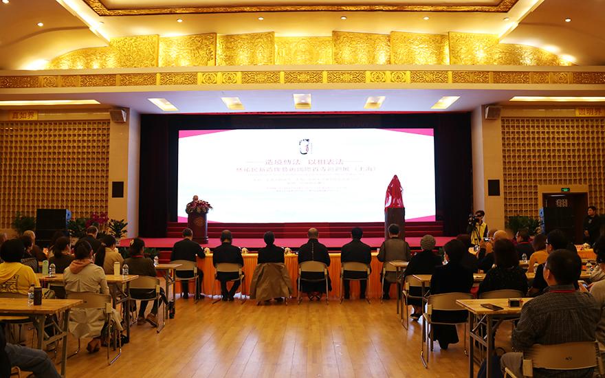【高清图集】造境传法 以相表法 林祐民新造像艺术国际百寺巡回展在上海玉佛禅寺开幕