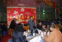 【高清图集】上海报国寺2011年新春茶话会