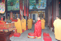 【高清图集】上海报国寺为《菩萨在线》护身符开光