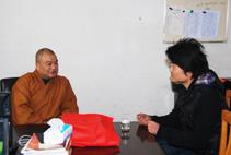 【高清图集】《菩萨在线》佛友王昌凯拜见华藏寺方丈秋风大和尚