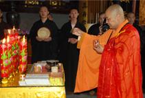 【高清图集】昆山华藏寺为《菩萨在线》护身符开光