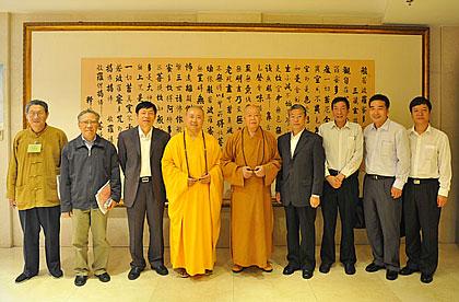 【高清图集】上海玉佛寺举行第十届觉群文化周开幕式