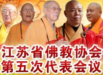 江苏省佛教协会第五次代表会议