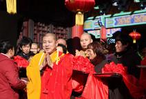 【高清图集】河北邢台威县普济禅寺举行大殿五方佛落成开光法会