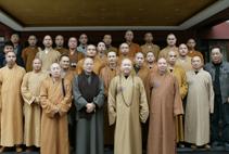 【高清图集】光泉大和尚率团参访上海玉佛寺