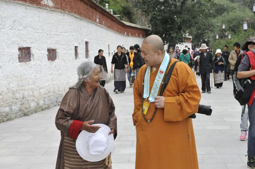 【高清图集】雪域•慈爱之旅——上海玉佛禅寺赴西藏拉萨