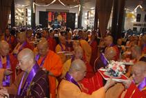 【高清图集】上海玉佛禅寺举行真禅长老圆寂十五周年活动