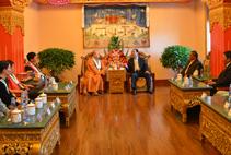 【高清图集】上海玉佛禅寺向西藏地区慈善项目捐赠仪式