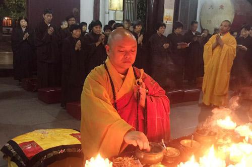 菩萨快报:上海性觉寺恭迎观世音菩萨出家法会!