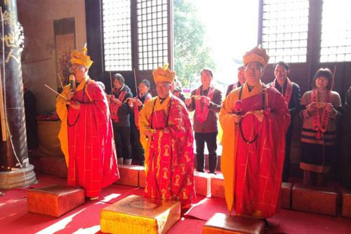 直播回顾:嘉兴南湖真实禅寺举行水陆送圣仪式