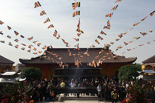 直播回顾:安徽含山八宝禅寺举行大雄宝殿落成暨全堂佛像开光法会