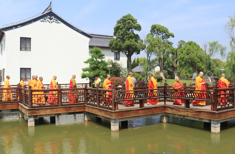 【高清图集】东海观音寺举行宝塔佛像开光暨水陆瓷版画安位仪式系列活动