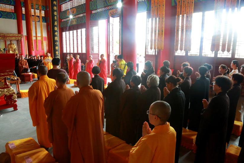 【高清图集】江苏省佛教协会举行盐城6.23风灾一周年祈福法会