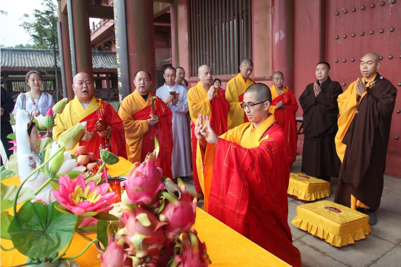 【高清图集】重庆古佛道场金佛寺施放瑜伽焰口一堂