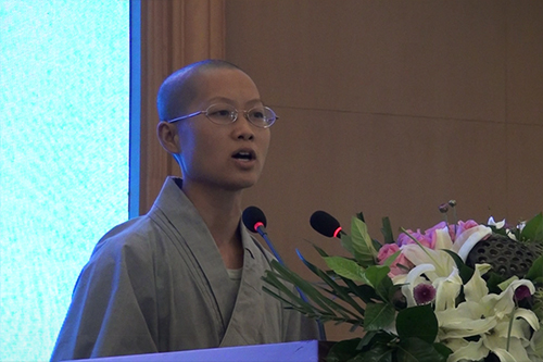 湖北省第六届讲经交流会 圆迦法师宣讲《如何建立信仰》