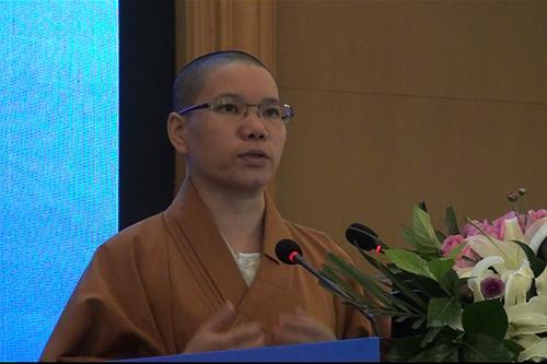 湖北省第六届讲经交流会 惟慈法师宣讲《如何利益众生》