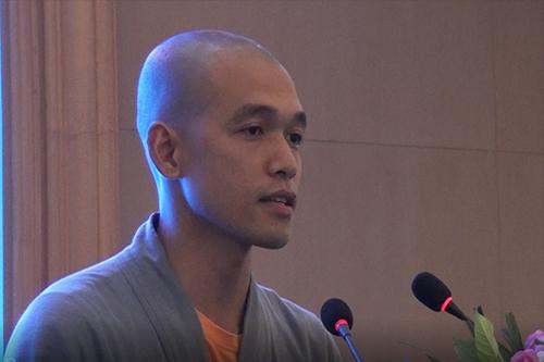 湖北省第六届讲经交流会 通证法师宣讲《如何依教修学》