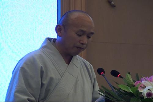 湖北省第六届讲经交流会 果胜法师宣讲《如何依教修学》