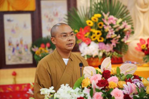 奉贤佛教讲经交流会 印宗法师宣讲《如何建立信仰》